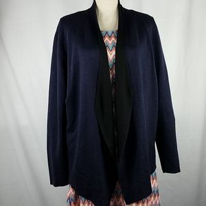 Eileen Fisher Blue Cardigan Size Large
